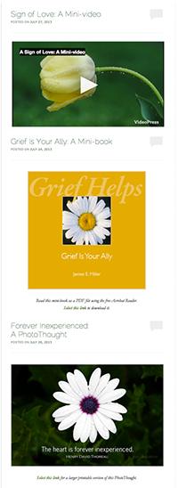 Grief Helps blog