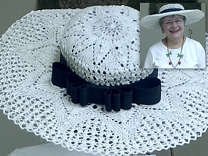 Marianne's Lace Hat
