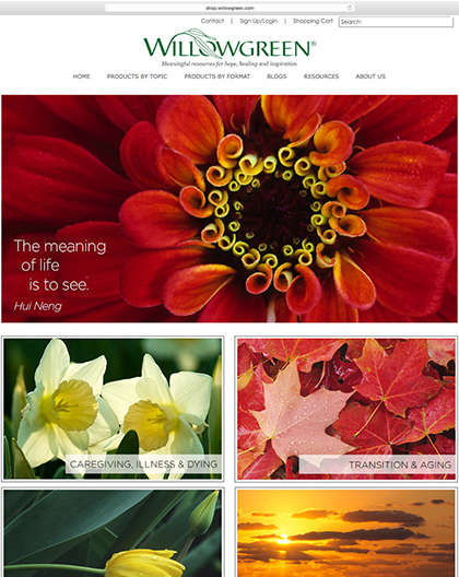New Willowgreen Web site