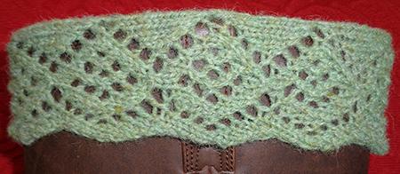 hand knit boot cuff