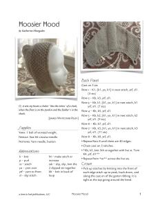 Hoosier Hood